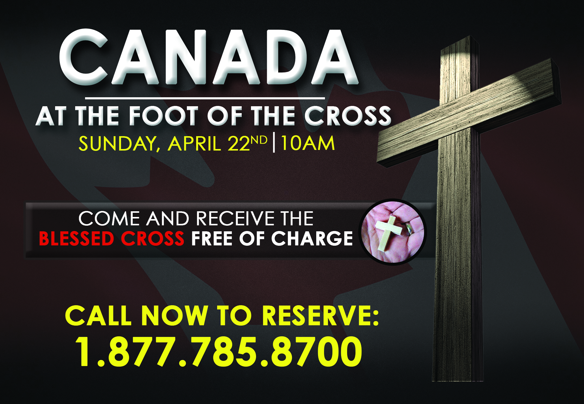 Canada at the Foot of the Cross