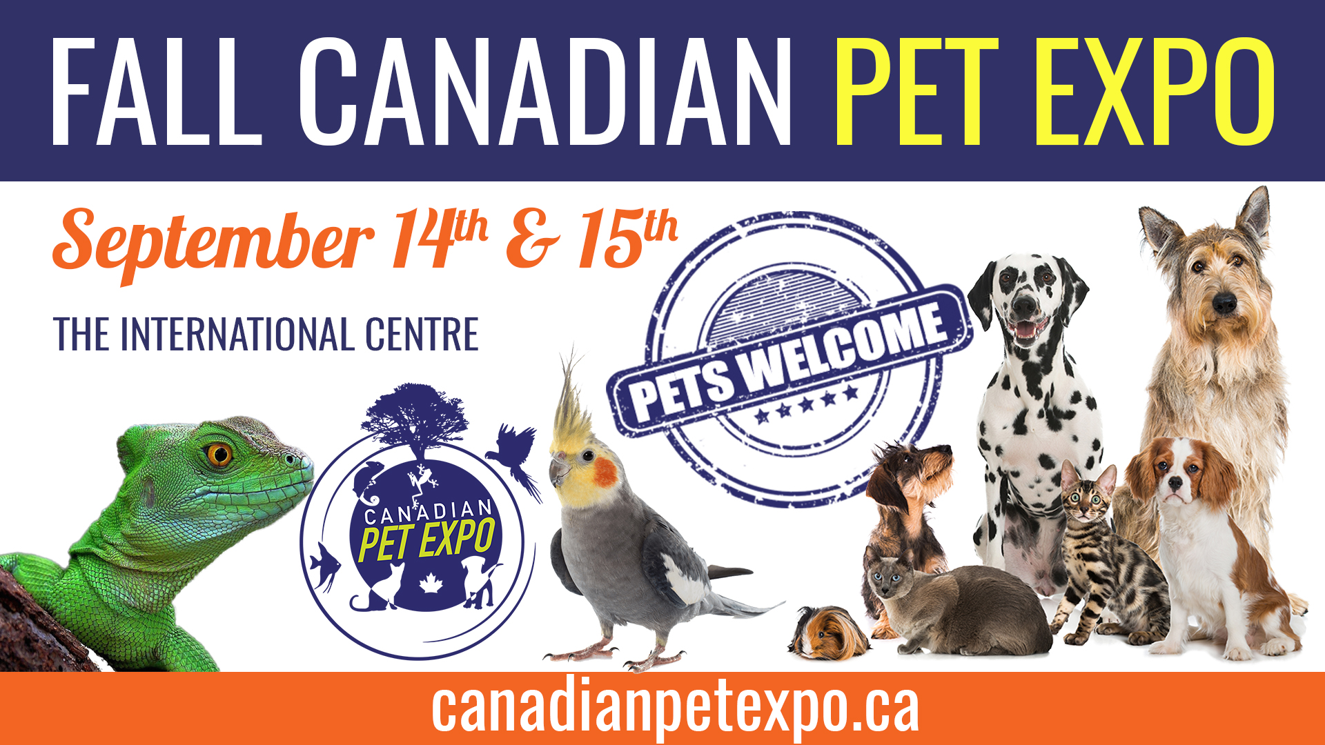 Fall Canadian Pet Expo and Canadian Reptile Breeder's Expo