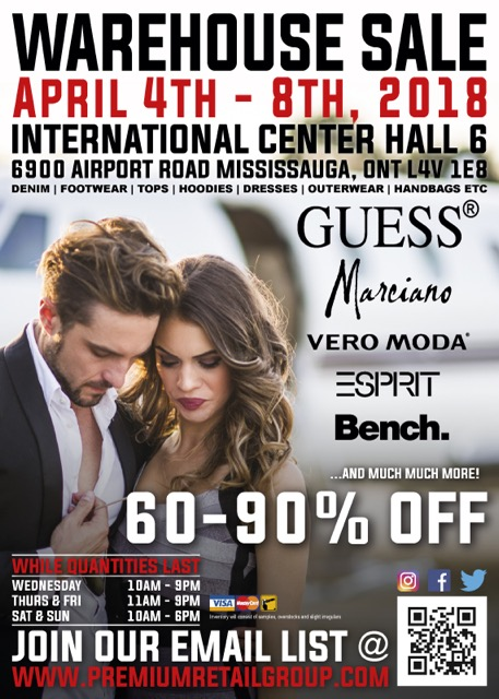 GUESS Jeans and More Warehouse Sale