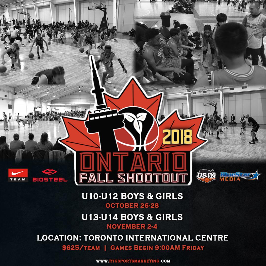 Ontario Fall Shootout Basketball Tournament