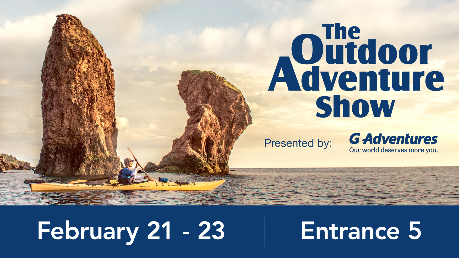 The Toronto Outdoor Adventure Show