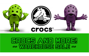 a58d640a7 Crocs Warehouse Sale - Event