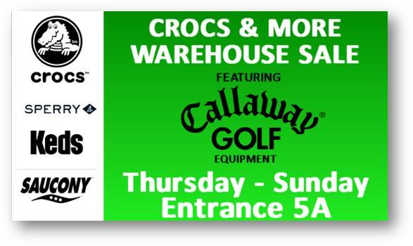 Crocs & More Warehouse Sale