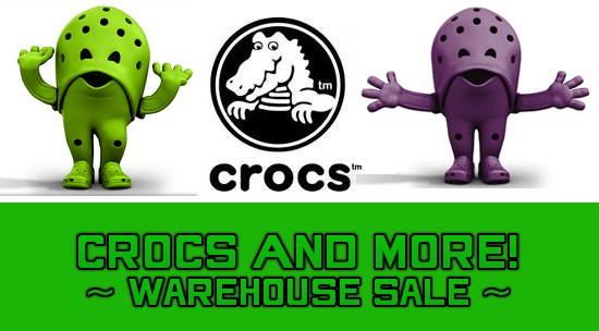 Crocs and Golf Sale