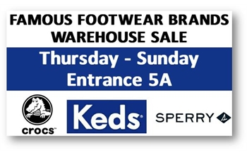 Crocs and More Warehouse Sale