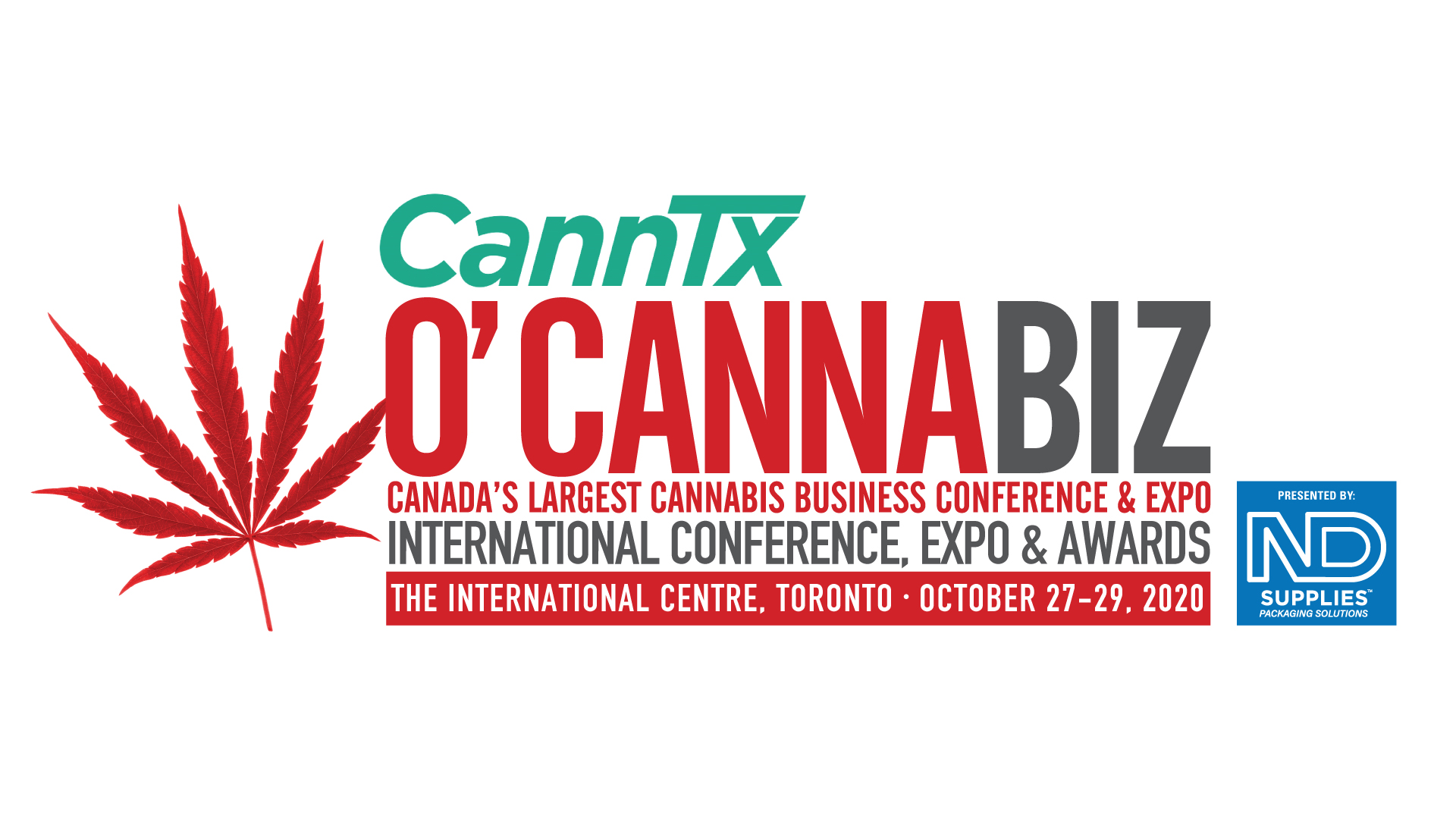 [POSTPONED] O'Cannabiz International Conference & Expo