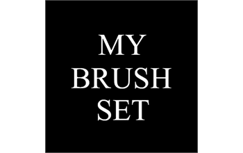 My Brush Set / 4th Annual Pop Up Event!