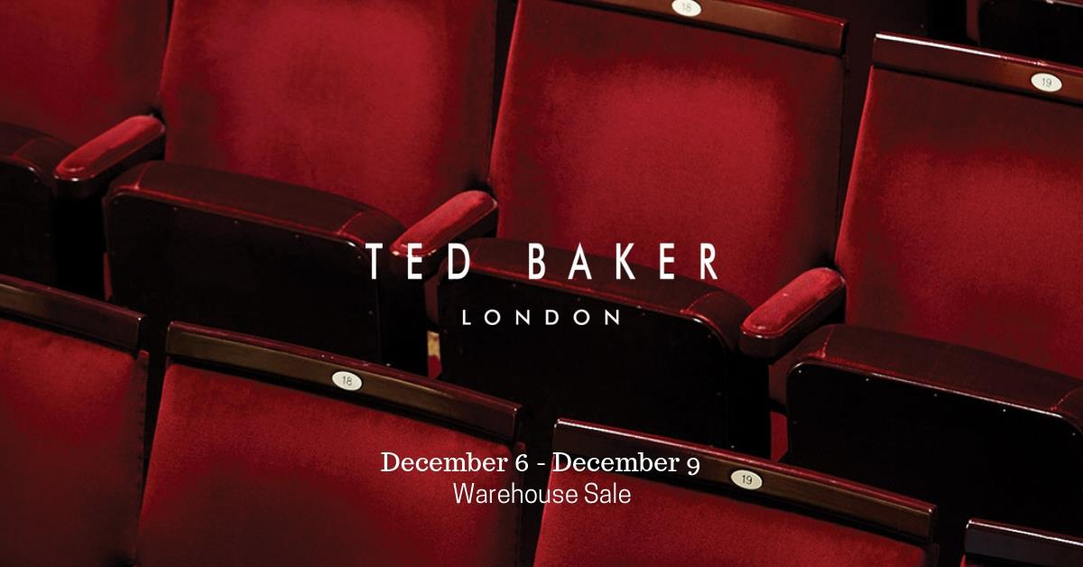 Ted Baker Warehouse Sale